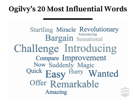 ogilvy influencial words